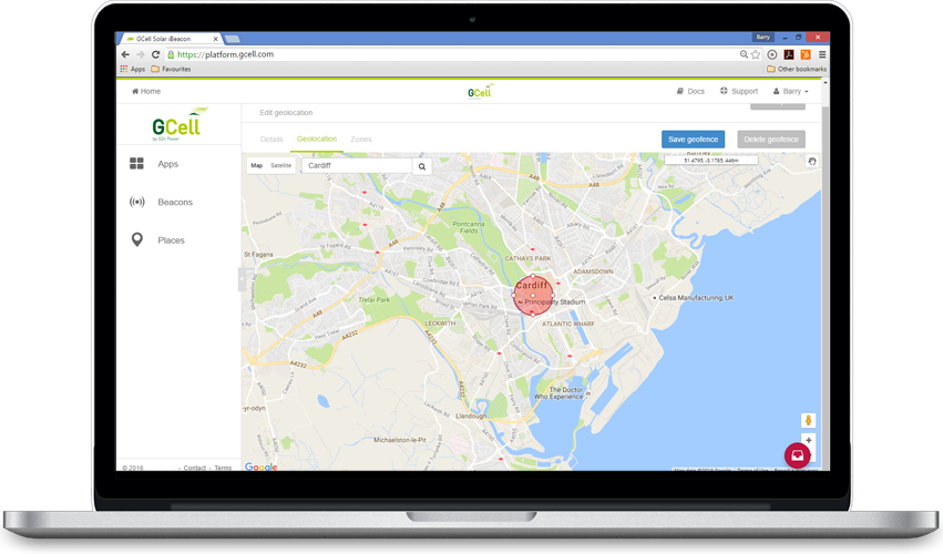 Geo Location Marketing Platform